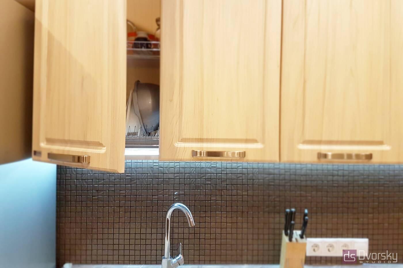 Прямые кухни Кухня Карго белая - Фото № 2