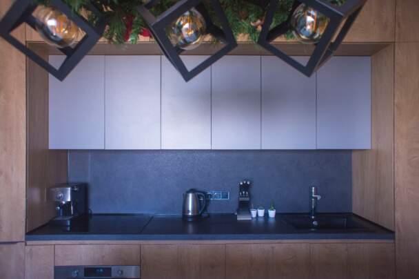 Кухня Arpa синій колір