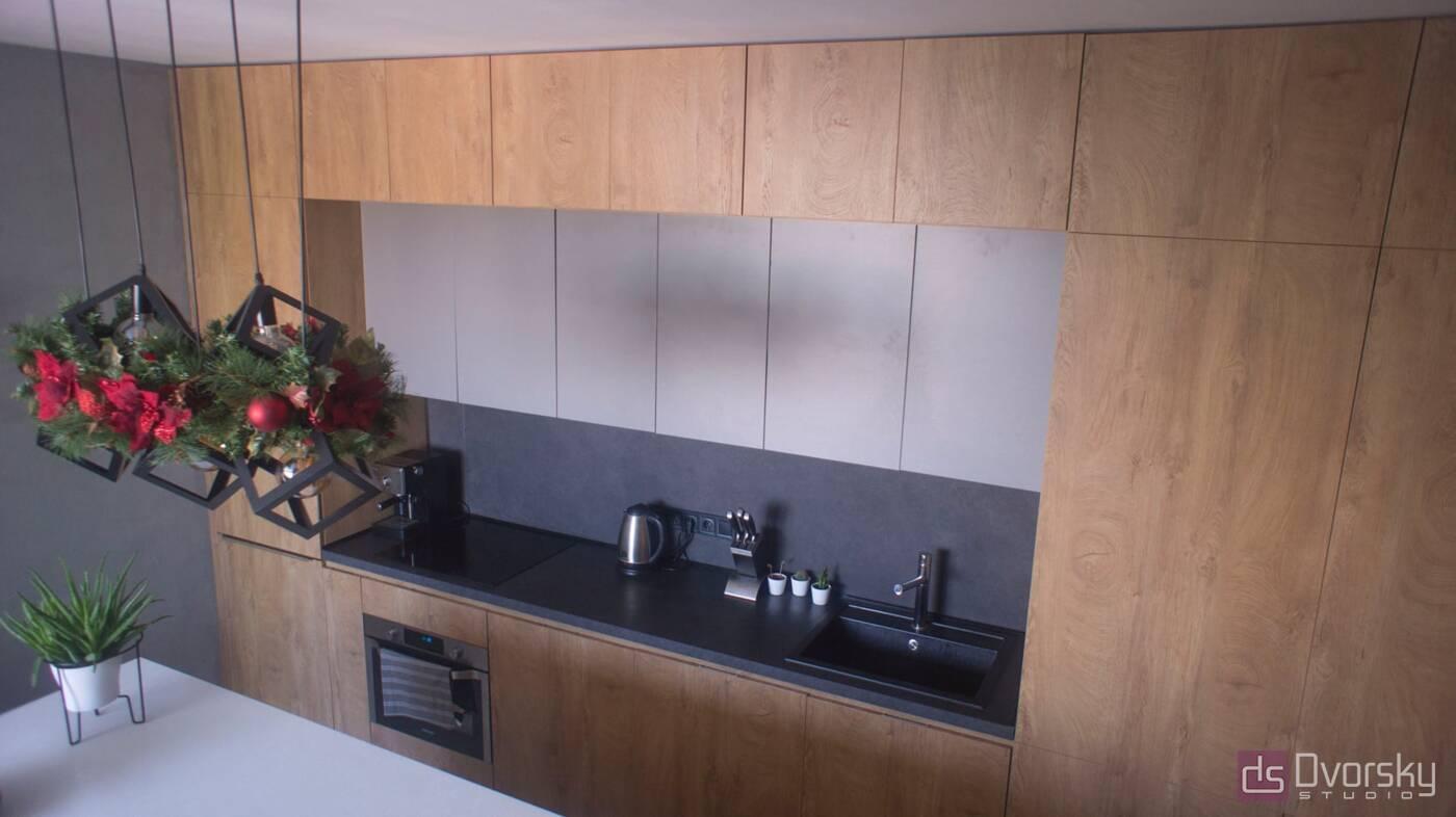 Острівні кухні Кухня Arpa синій колір - Фото № 2