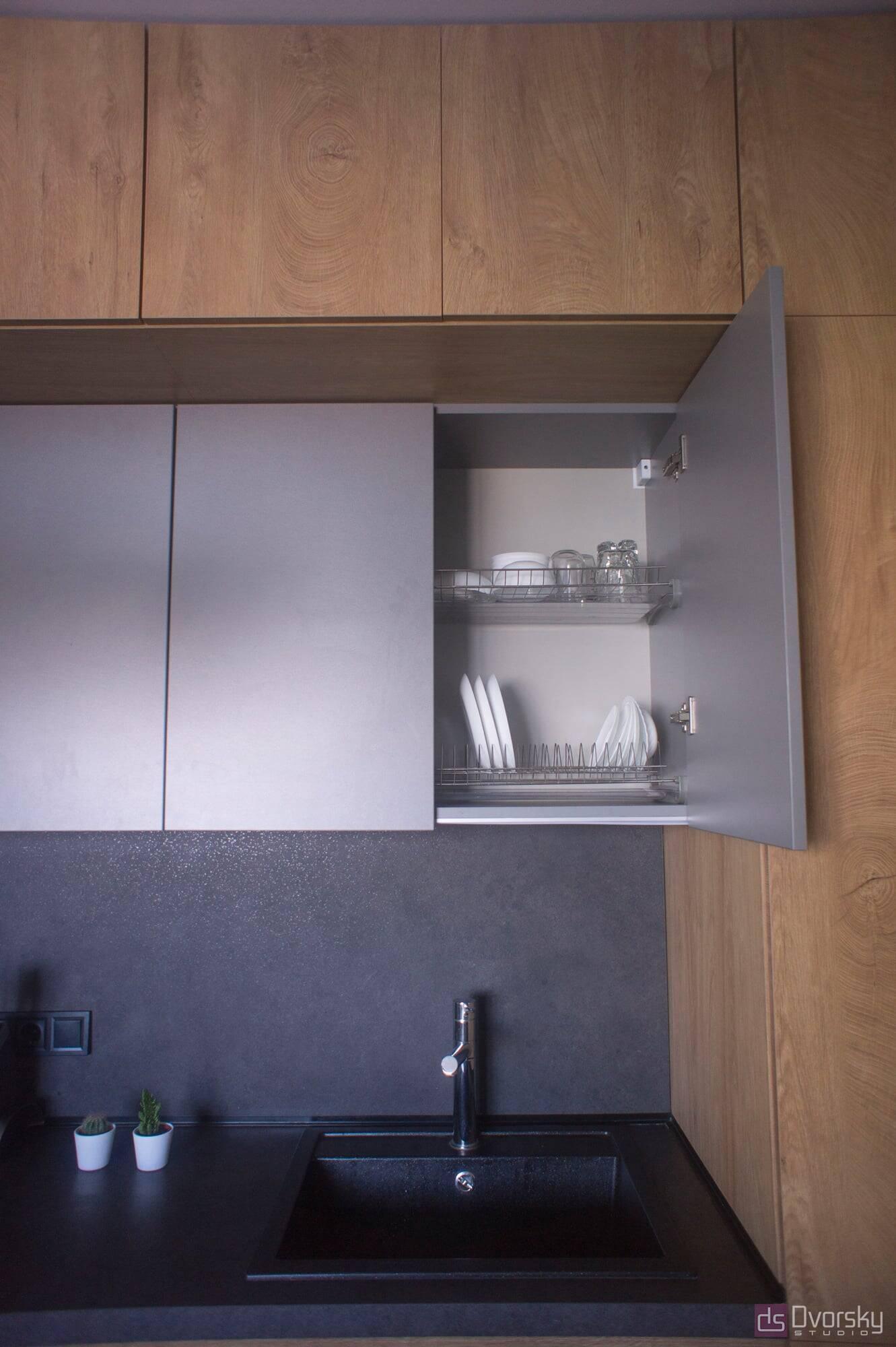 Острівні кухні Кухня Arpa синій колір - Фото № 7