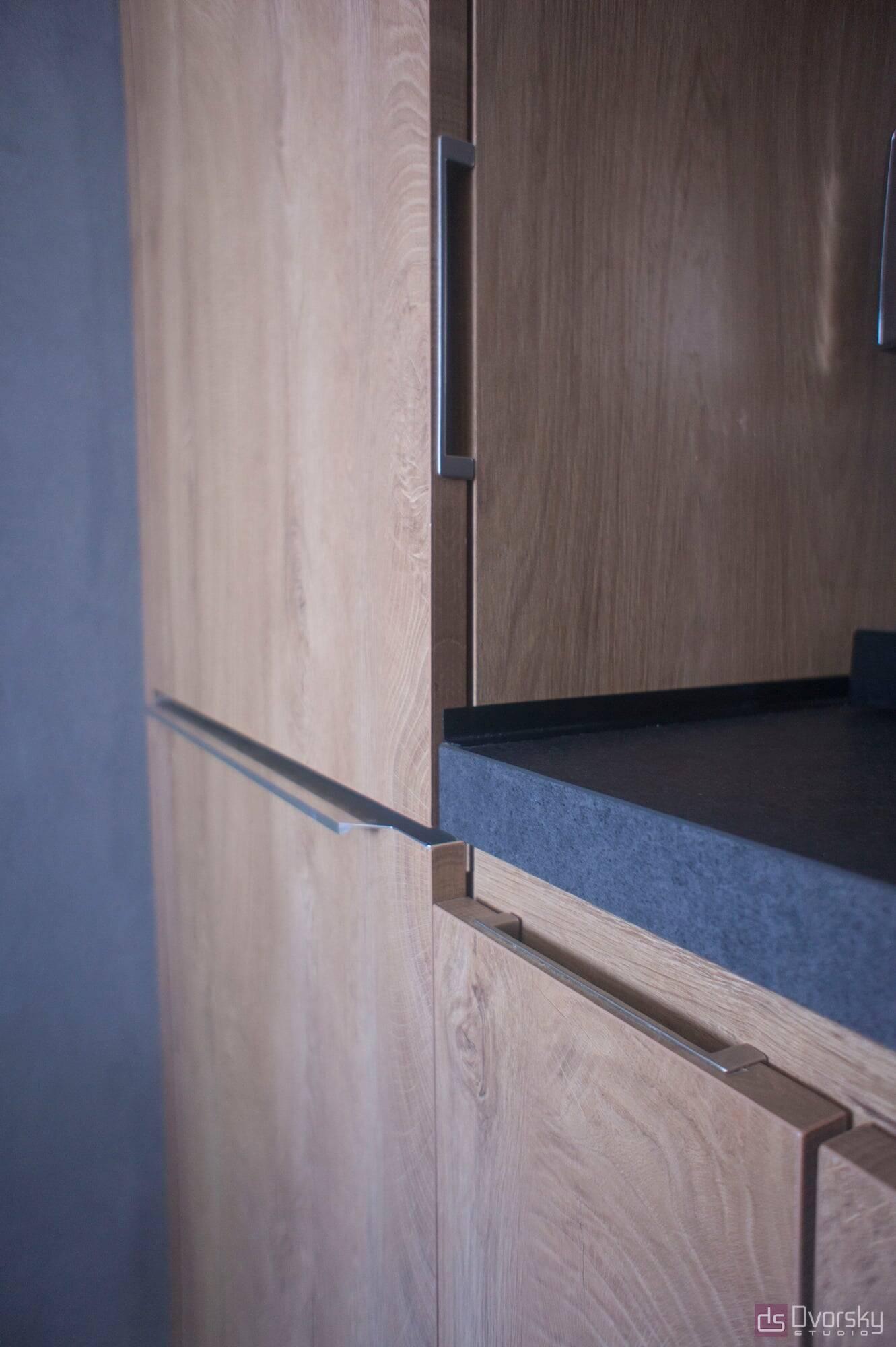 Острівні кухні Кухня Arpa синій колір - Фото № 8