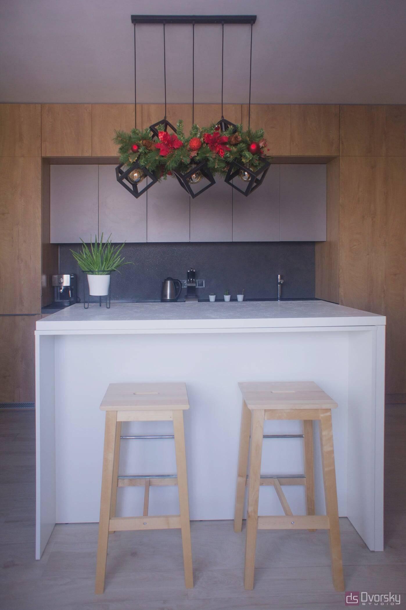 Острівні кухні Кухня Arpa синій колір - Фото № 9