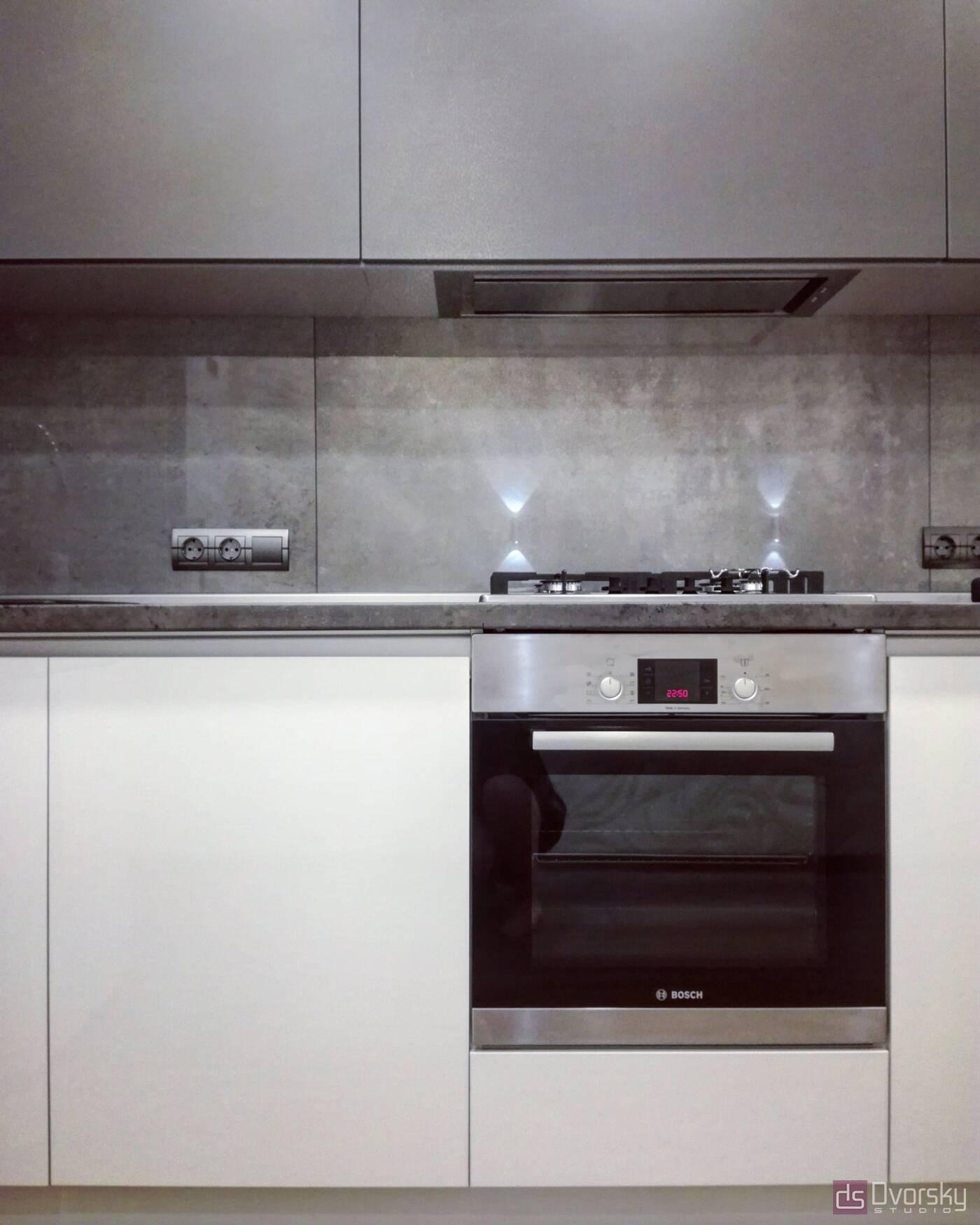 Угловые кухни Кухня с подсветкой - Фото № 2