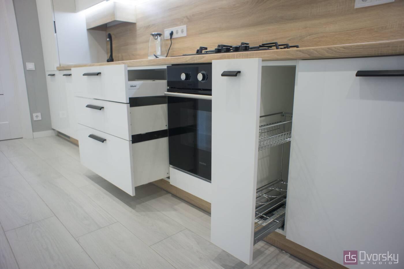 Прямые кухни Кухня на Подоле - Фото № 2