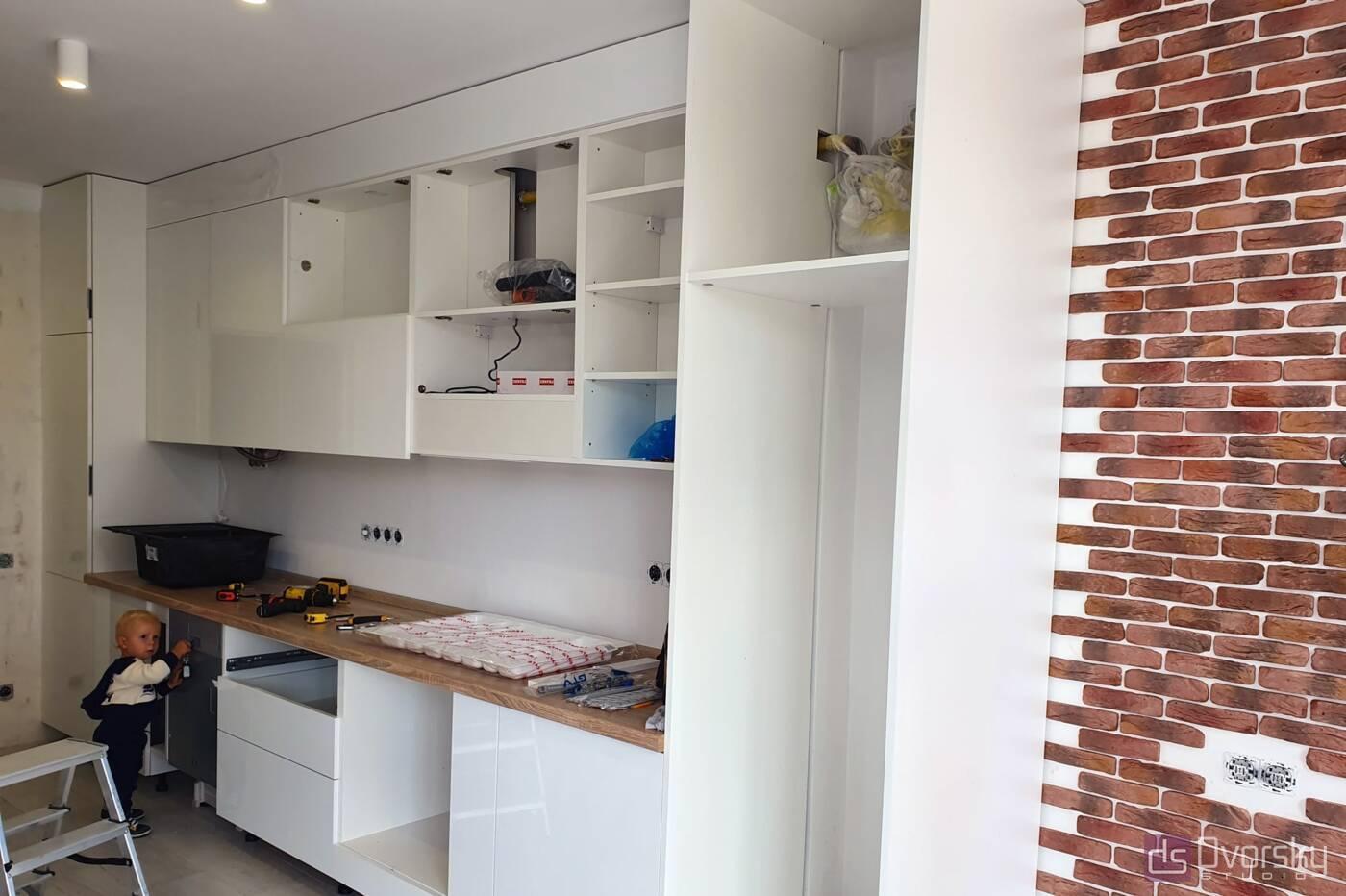 Прямые кухни Кухня на Подоле - Фото № 5