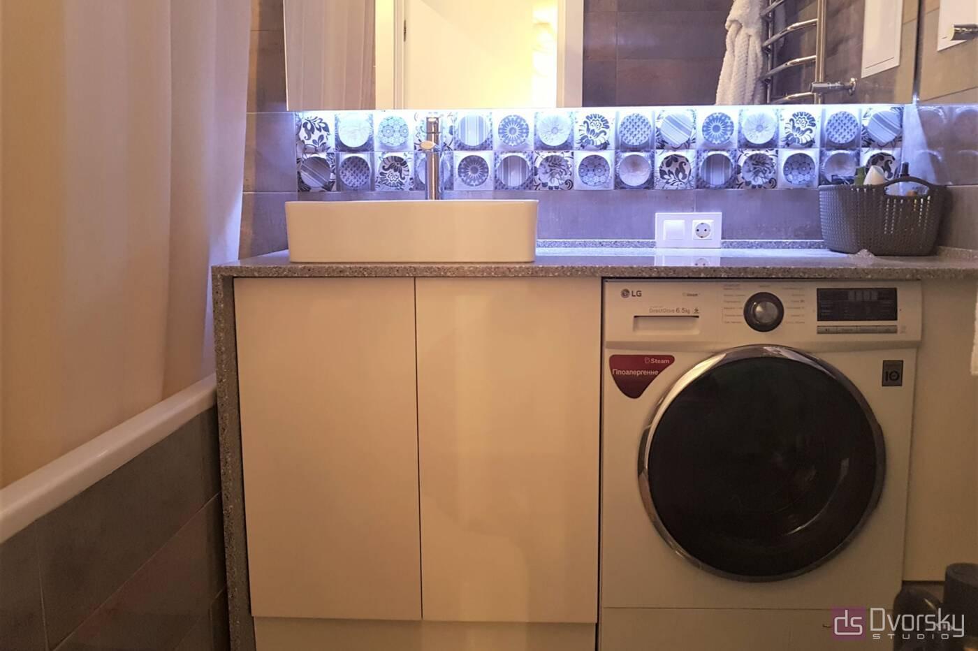 Меблі для ванної Ванна кімната з підсвіткою - Фото № 3