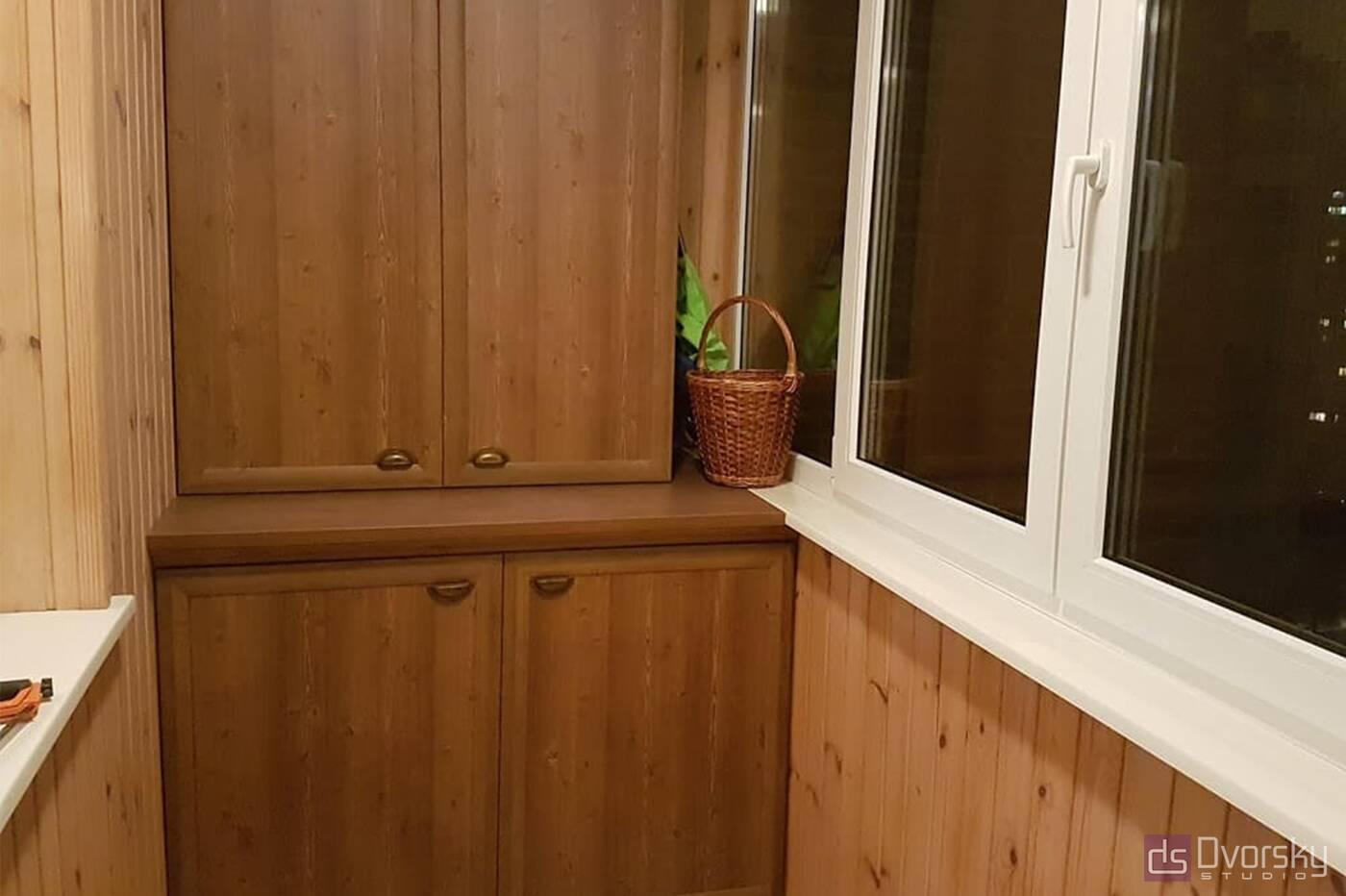 Мебель на балкон Балкон из сосны - Фото № 1