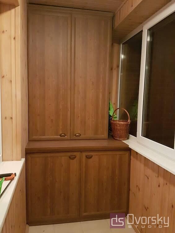 Мебель на балкон Балкон из сосны - Фото № 3