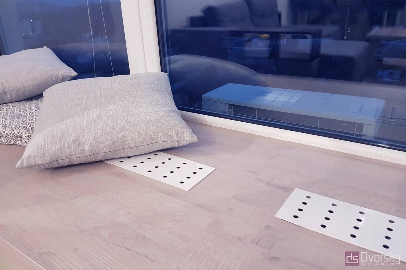 Меблі на балкон Затишний балкон у вікна - Фото № 2