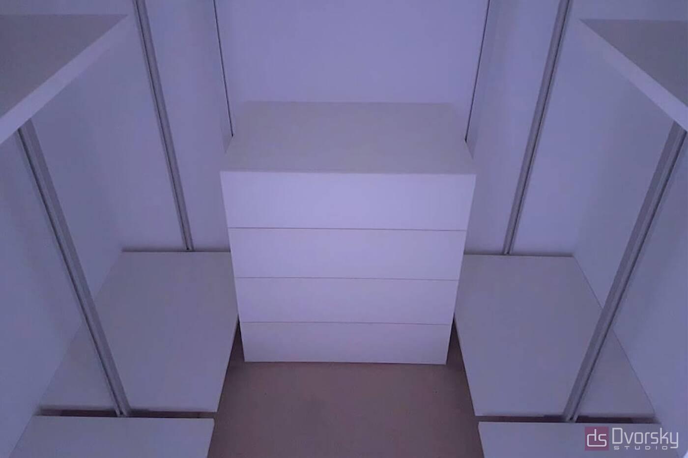 Гардеробная Удобная гардеробная система - Фото № 1