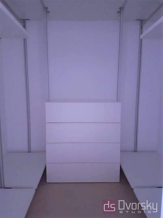 Гардеробная Удобная гардеробная система - Фото № 2