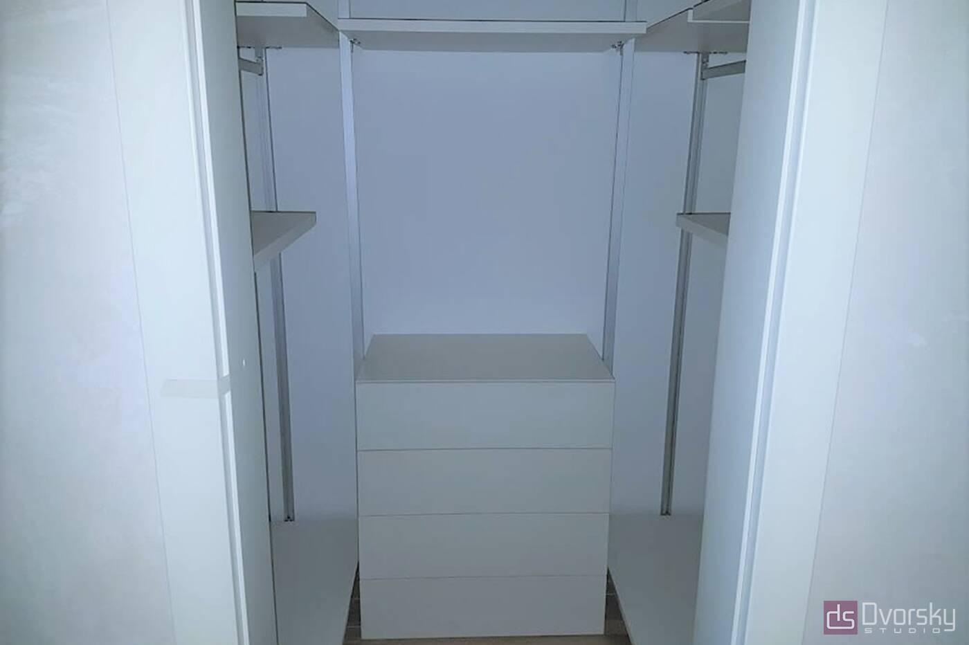 Гардеробная Удобная гардеробная система - Фото № 3
