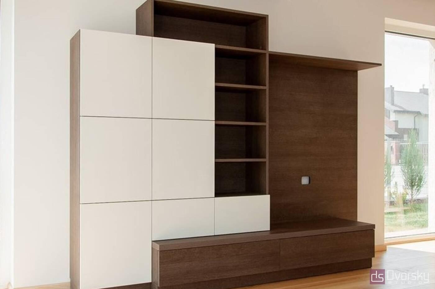 Мебельные горки Мебельная горка для гостиной с фасадами - Фото № 2