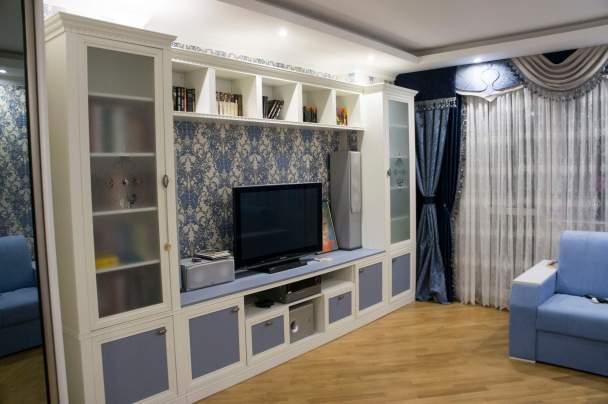 Фото гостиной в современной классике