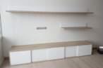 Гостиная Утолщенная декорированная полка для гостиной - Фото № 2