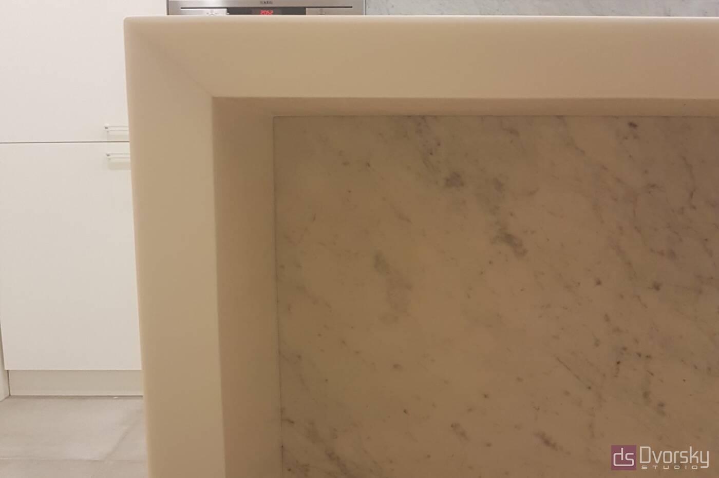 Вироби з каменю Стільниця п-образна з каменю - Фото № 5