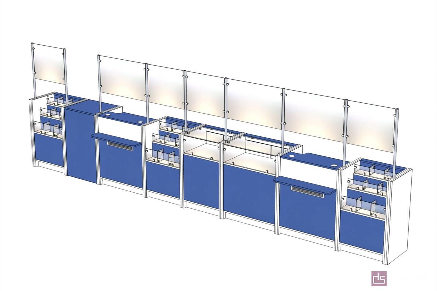 Торгівельні меблі Стійка для ліків - Фото № 2