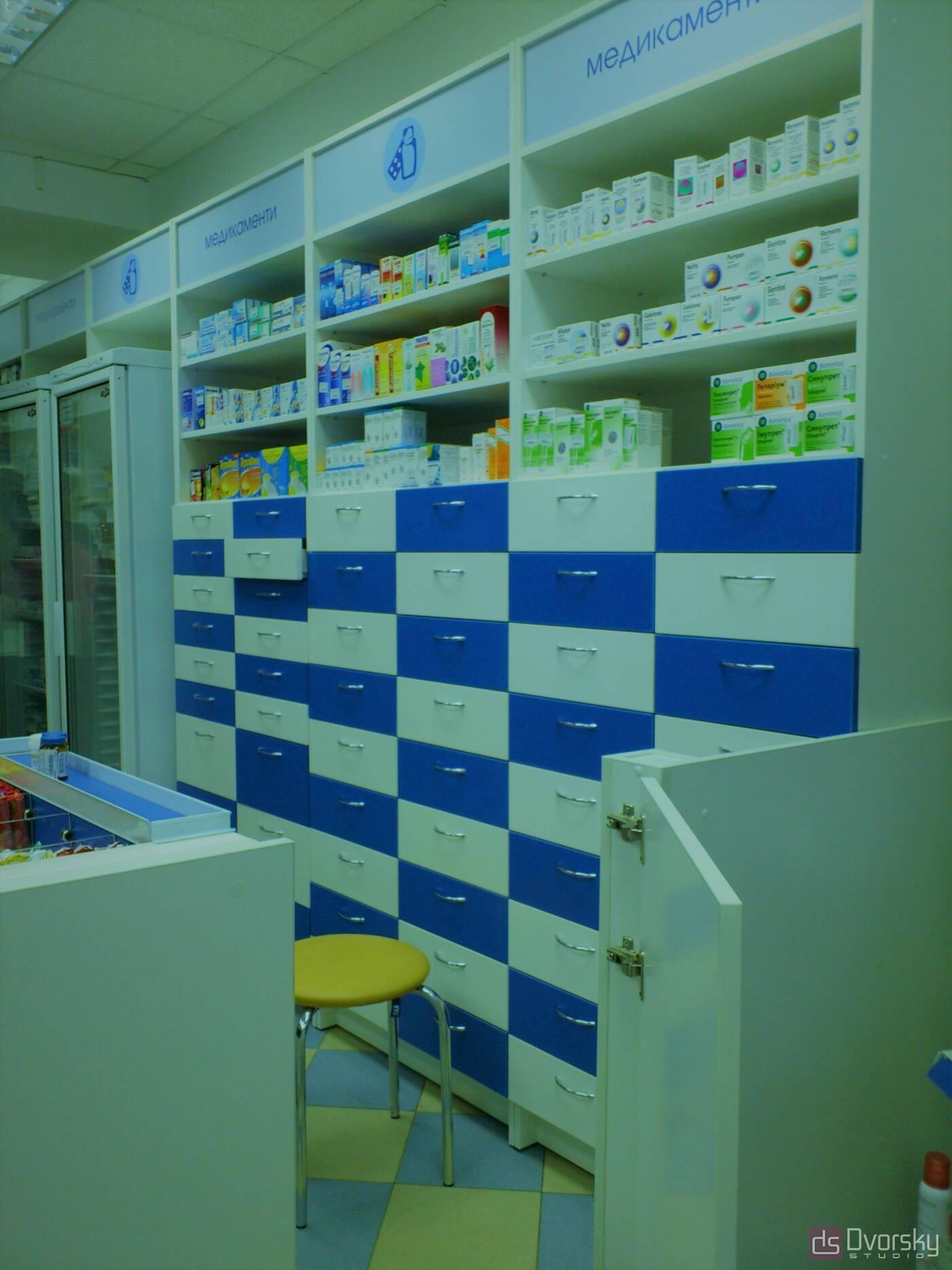 Торгівельні меблі Стійка для ліків - Фото № 4