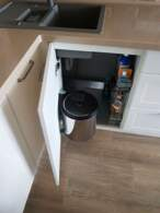 П - образні кухні Кухня в кремових тонах - Фото № 3