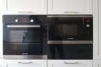П - образні кухні Кухня в кремових тонах - Фото № 6