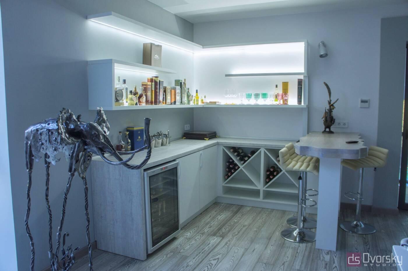 П - образные кухни Бар