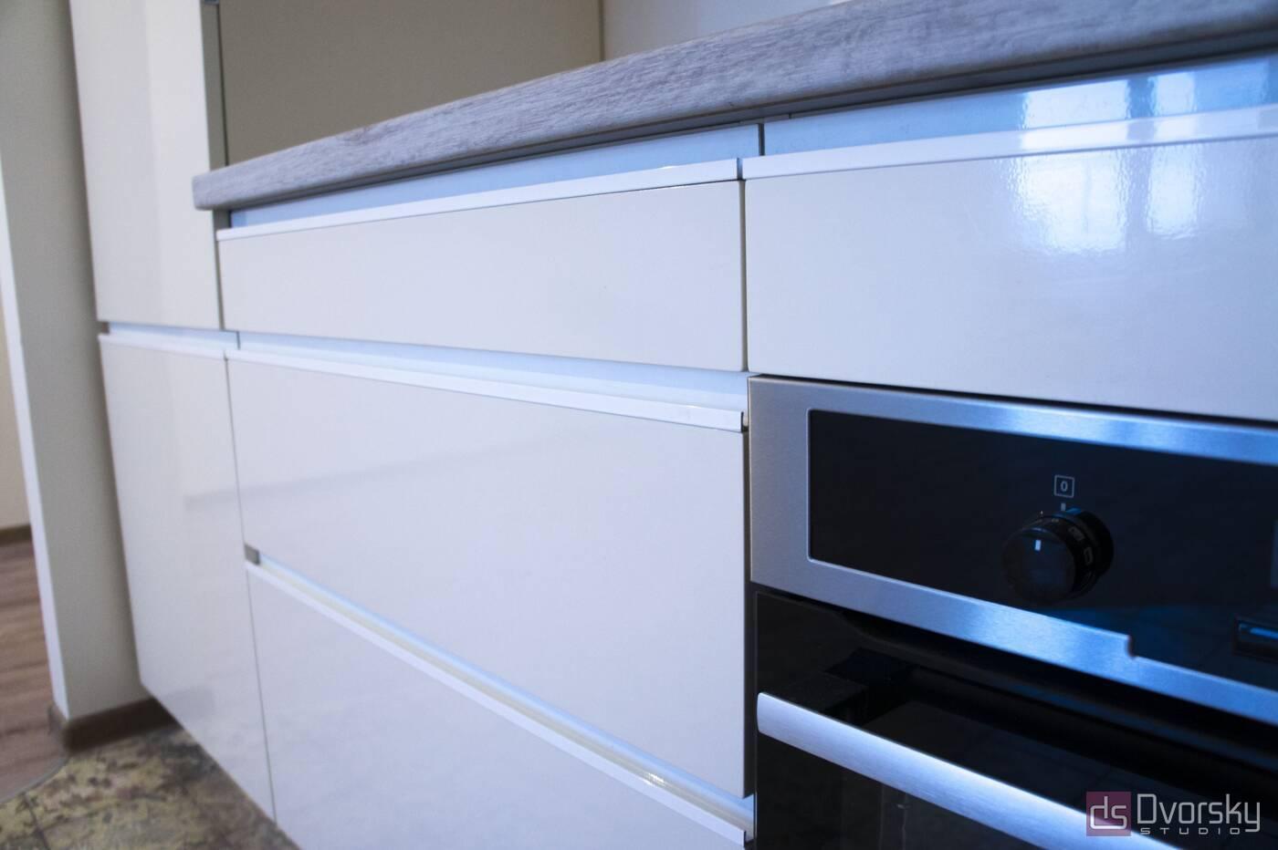 Угловые кухни Кухня в стиле Минимализм - Фото № 2