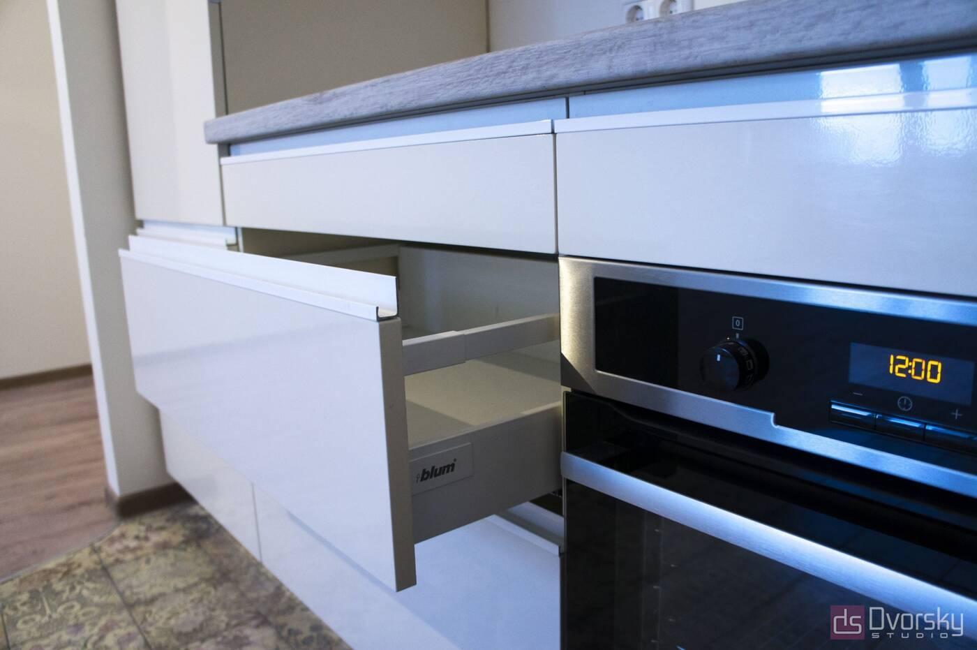 Угловые кухни Кухня в стиле Минимализм - Фото № 3