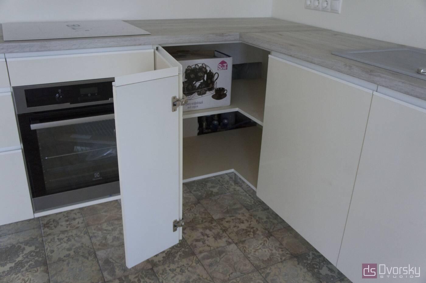 Угловые кухни Кухня в стиле Минимализм - Фото № 5
