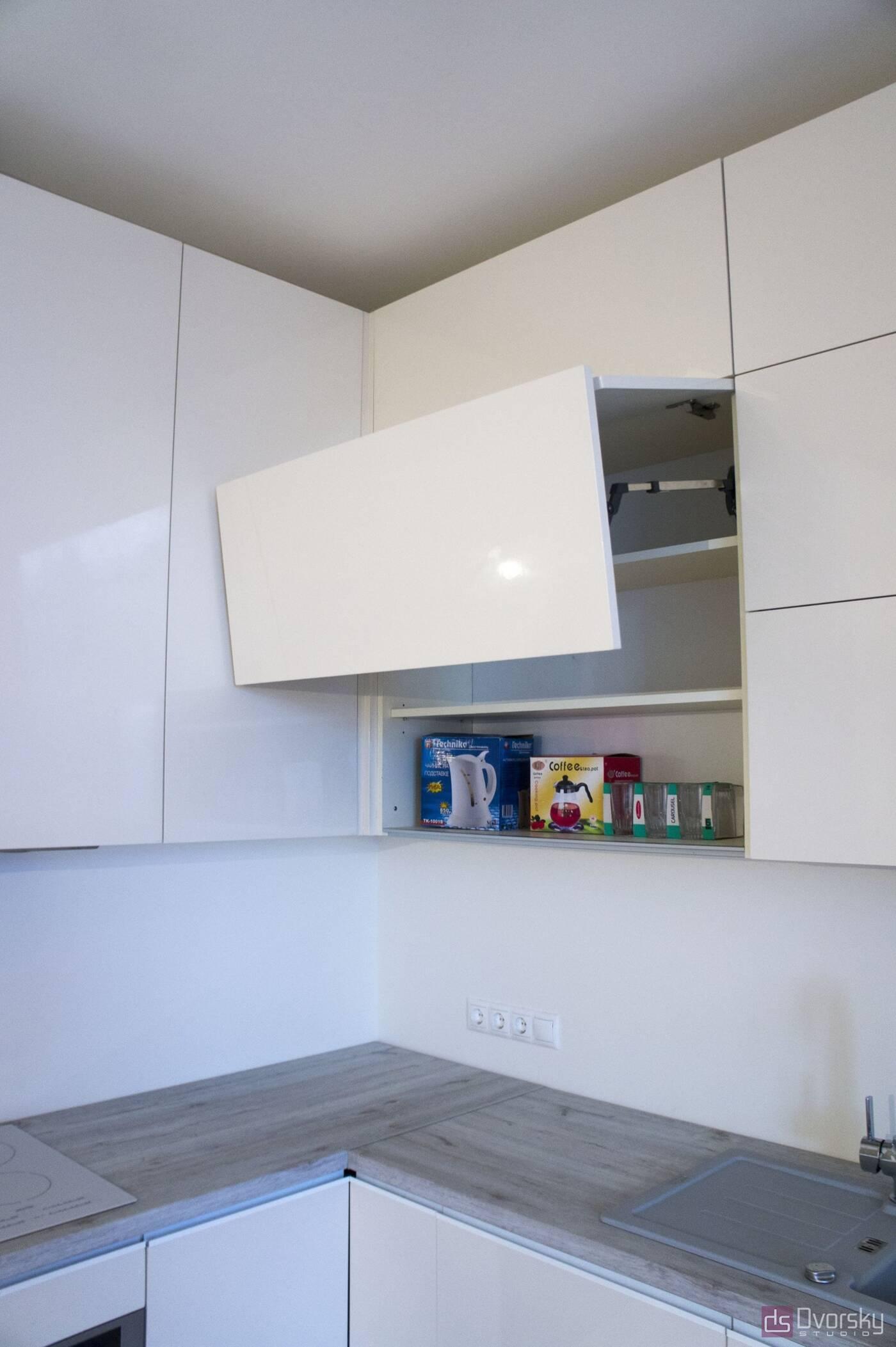 Угловые кухни Кухня в стиле Минимализм - Фото № 7