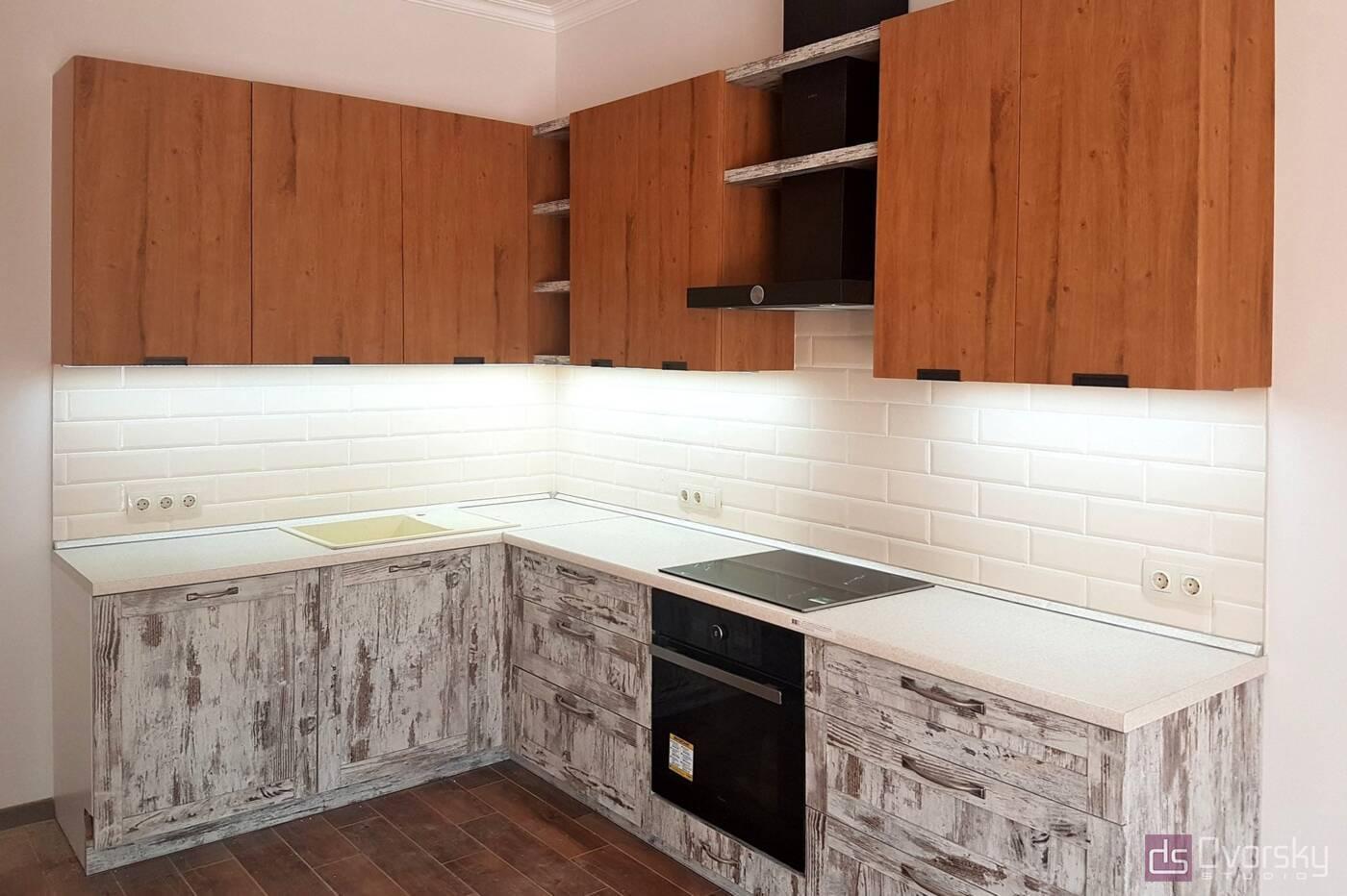 Кутові кухні Вінтажна кухня - Фото № 2