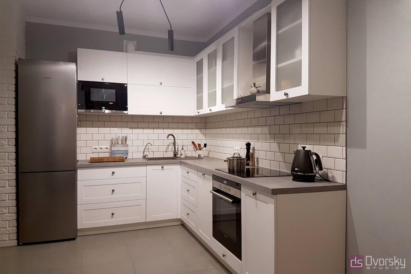 Кутові кухні Cкандинавська кухня - Фото № 1