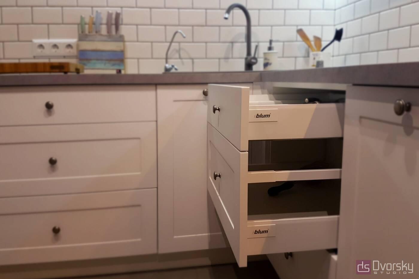Кутові кухні Cкандинавська кухня - Фото № 4