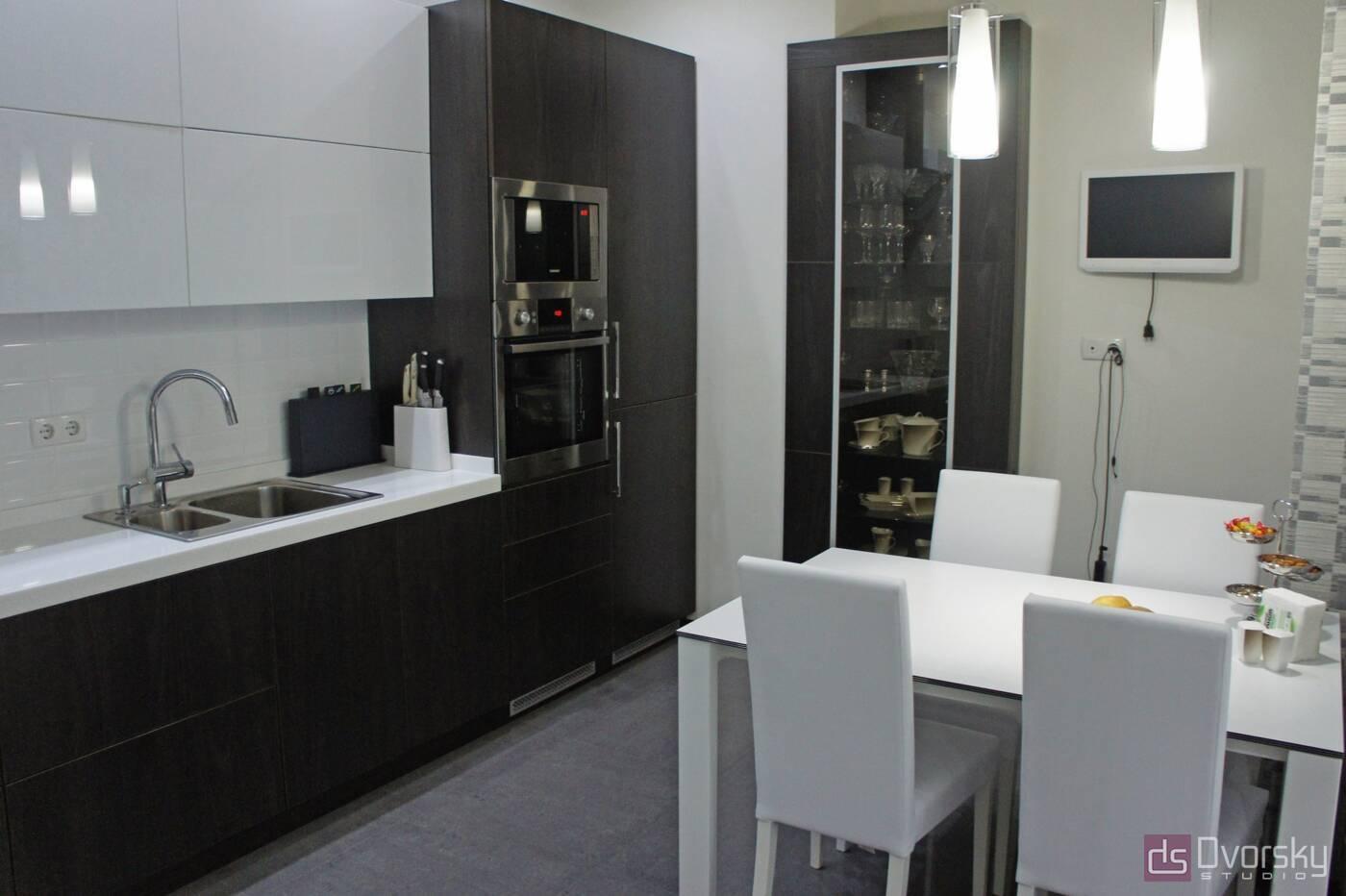 Прямі кухні Кухня з електроприводом - Фото № 1