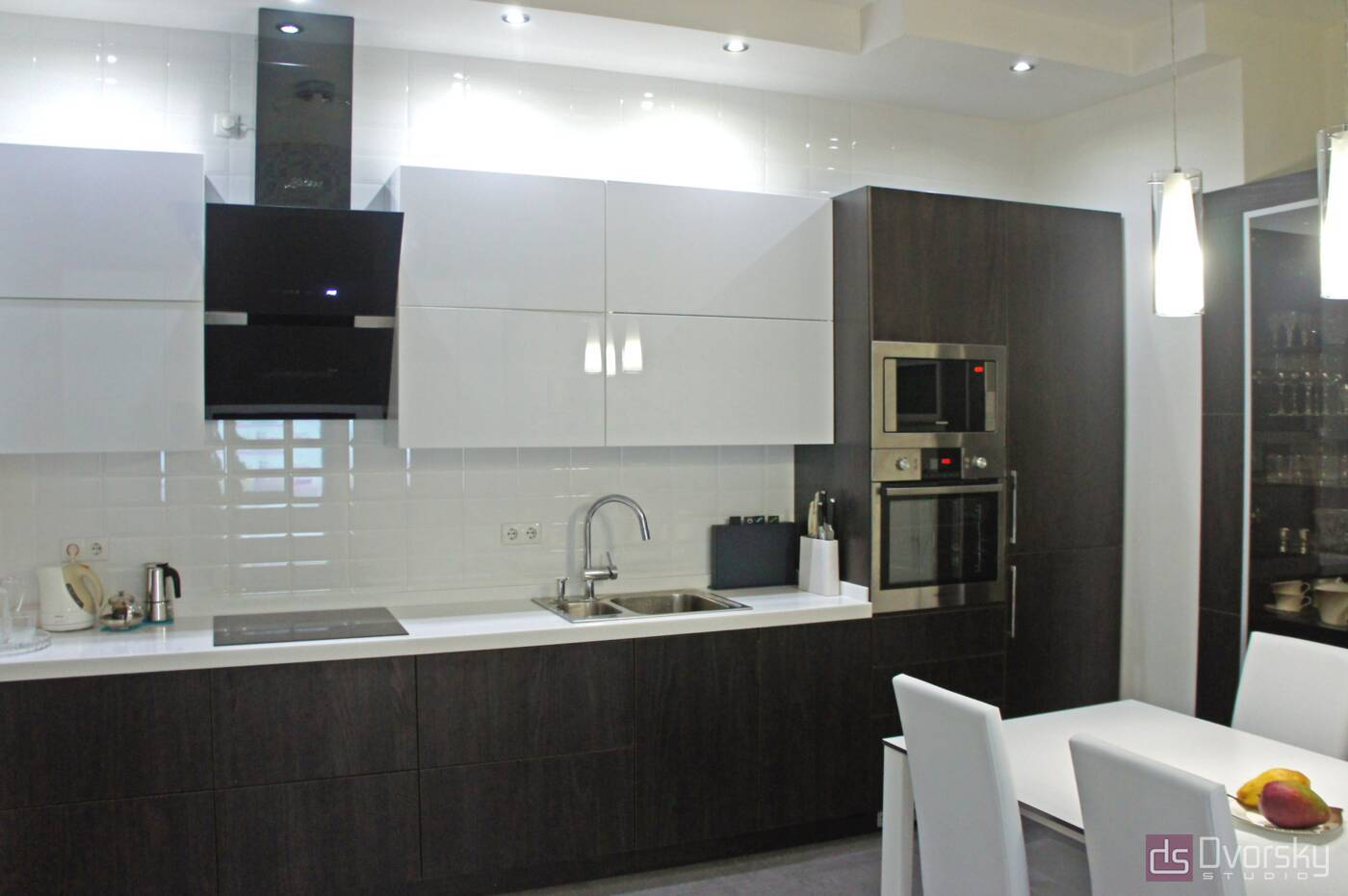 Прямі кухні Кухня з електроприводом - Фото № 2