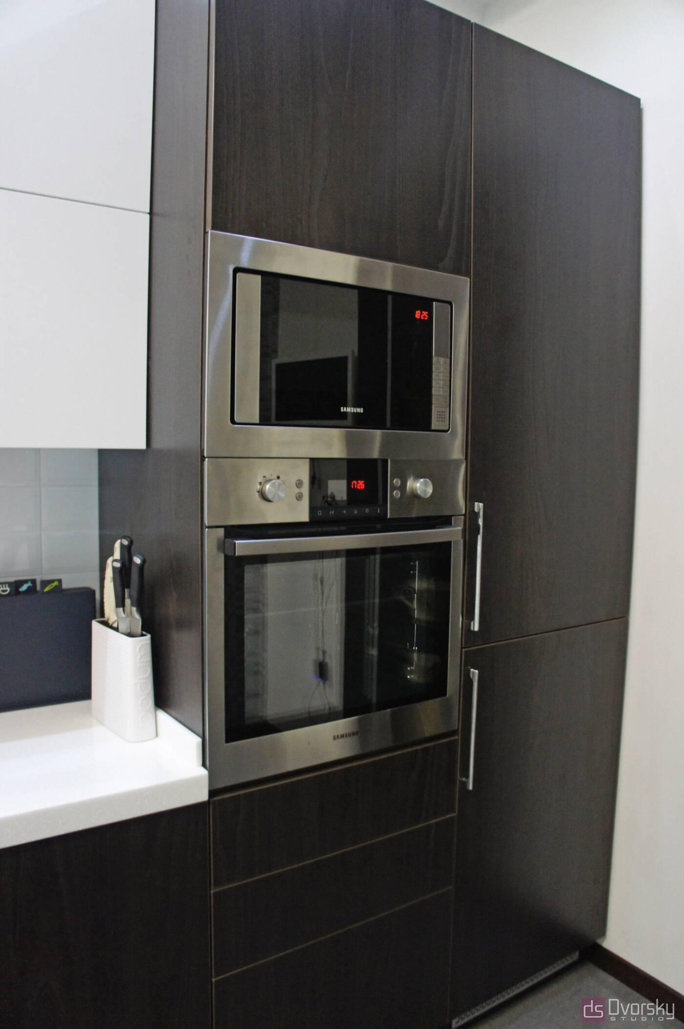 Прямі кухні Кухня з електроприводом - Фото № 3