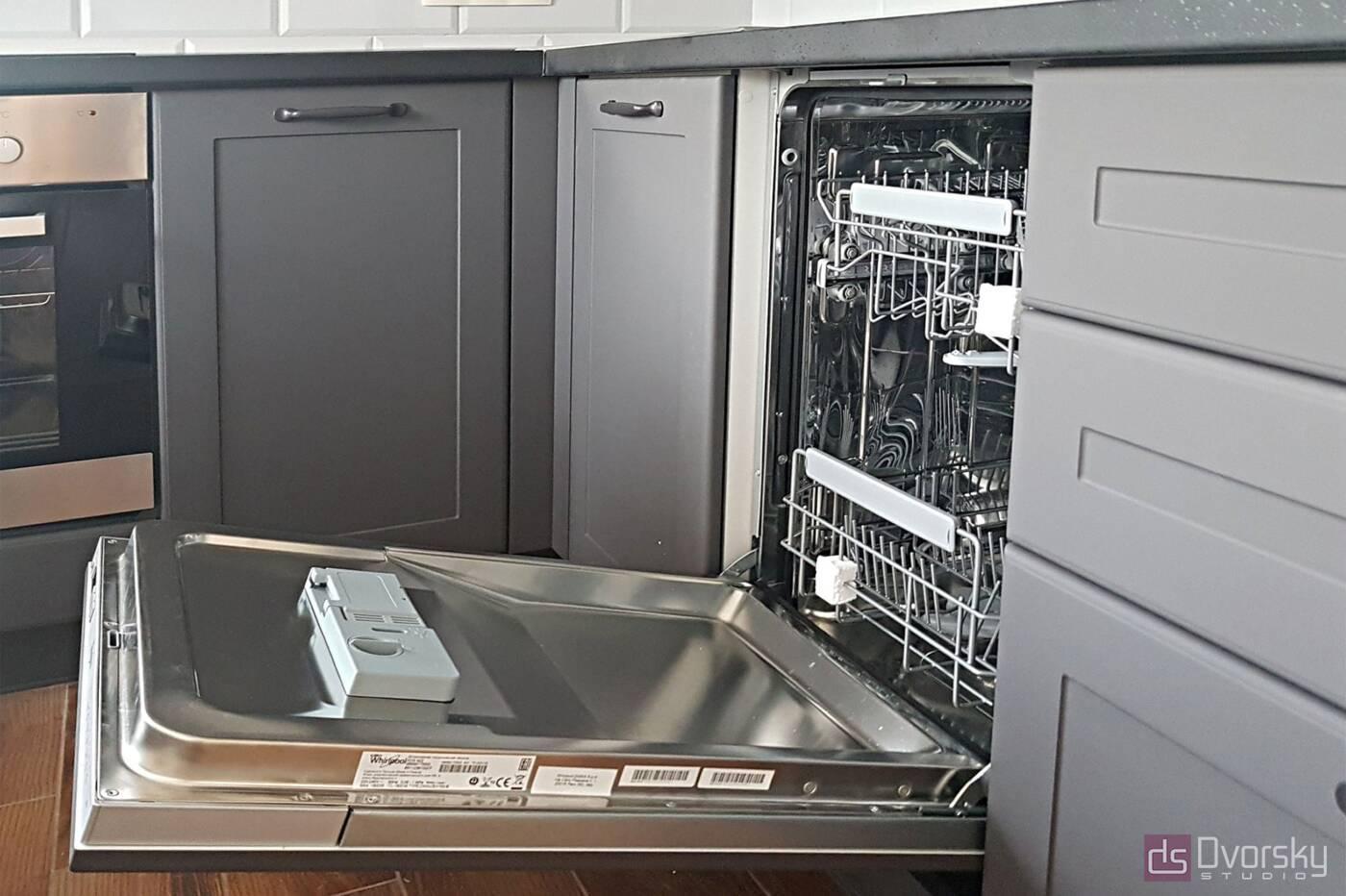 Угловые кухни Графитовая кухня - Фото № 2