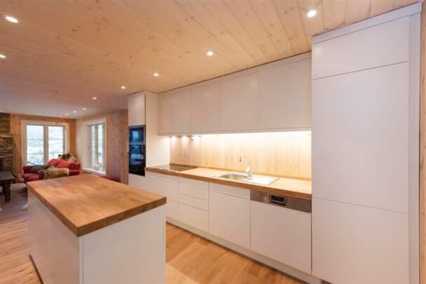 Кухня для дачного домика