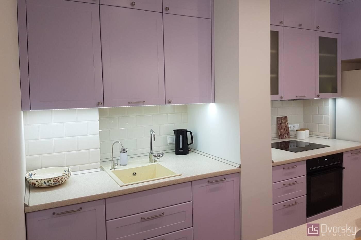 Острівні кухні Кухня з глибокими модулями - Фото № 3