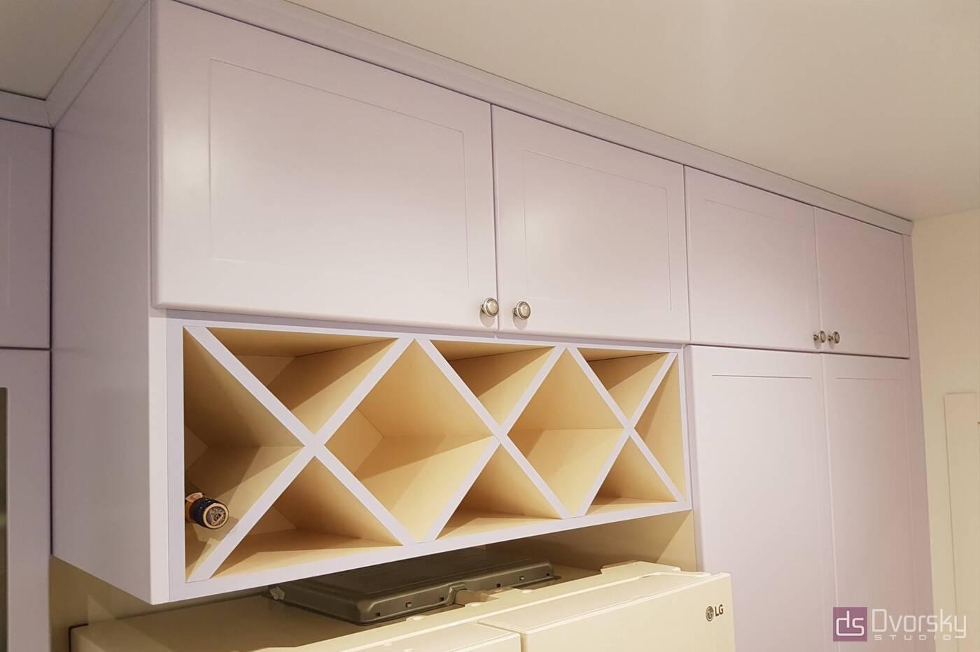 Острівні кухні Кухня з глибокими модулями - Фото № 5