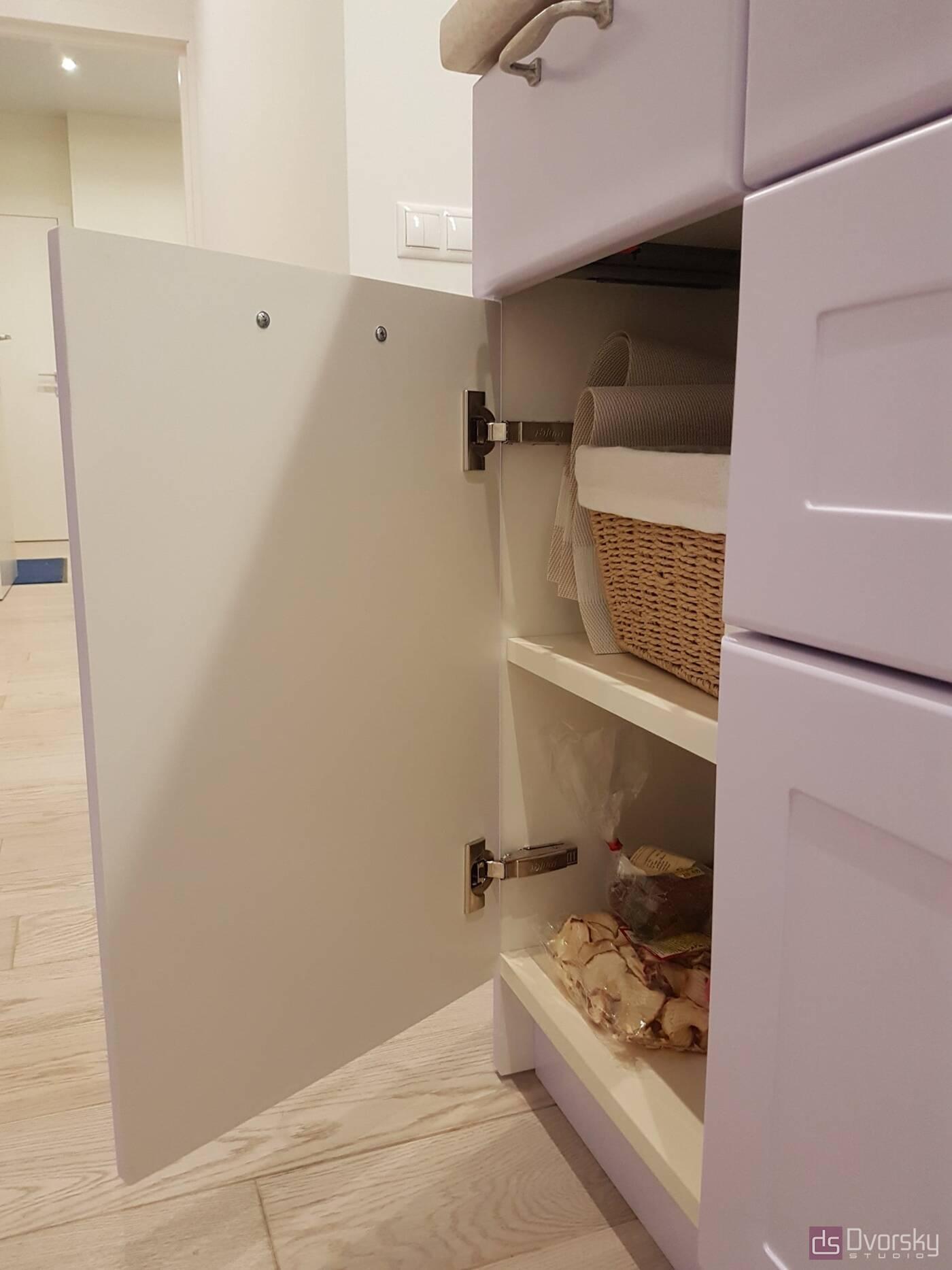 Острівні кухні Кухня з глибокими модулями - Фото № 9