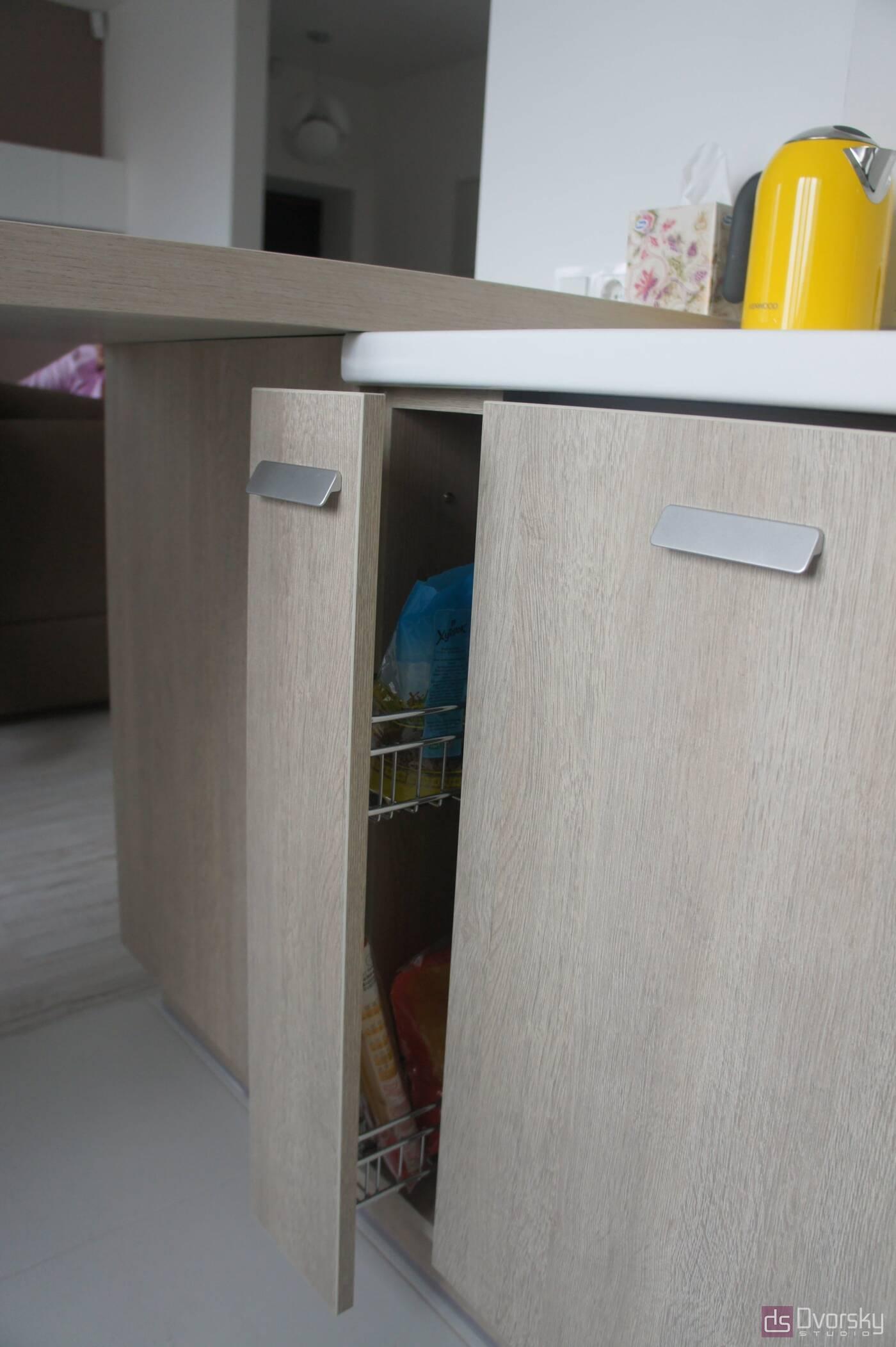 П - образные кухни Функциональная мини-кухня - Фото № 4