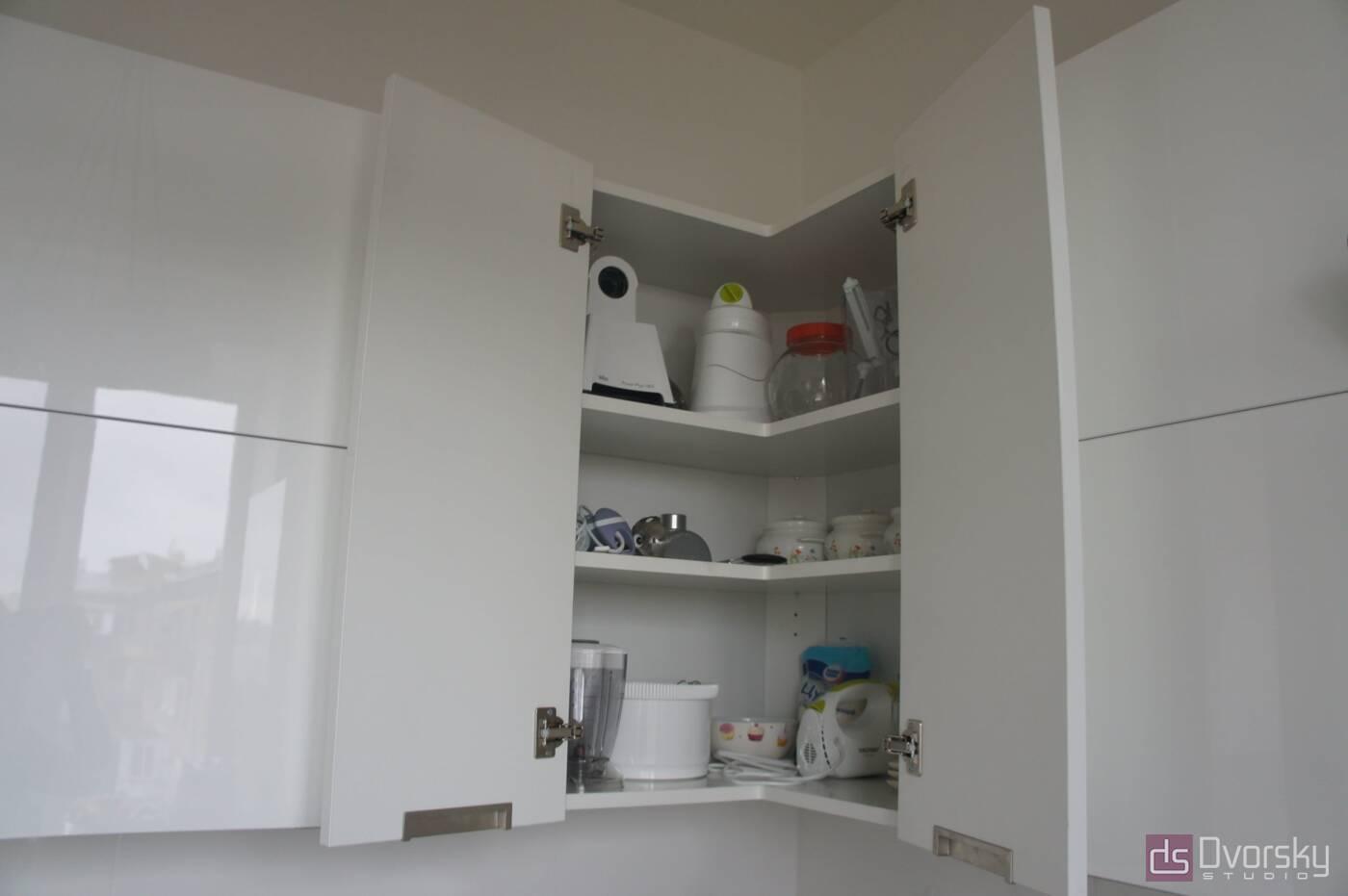 П - образные кухни Функциональная мини-кухня - Фото № 5