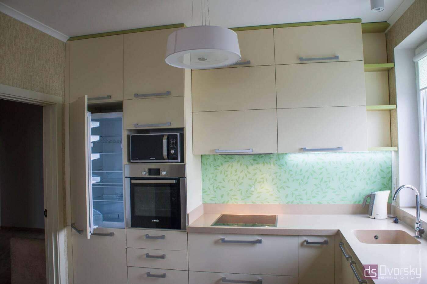 П - образные кухни Весенняя кухня - Фото № 2