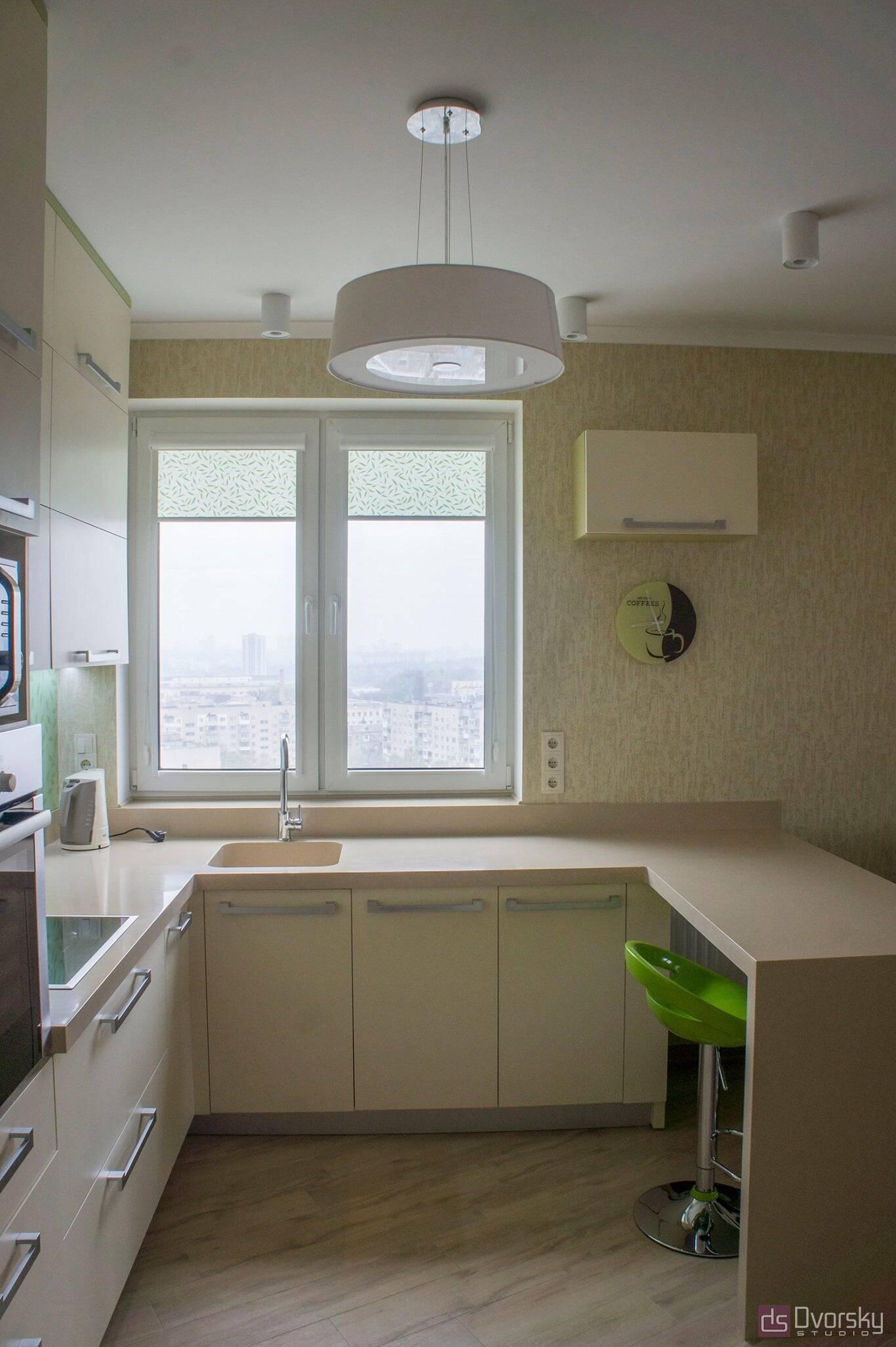 П - образные кухни Весенняя кухня - Фото № 5