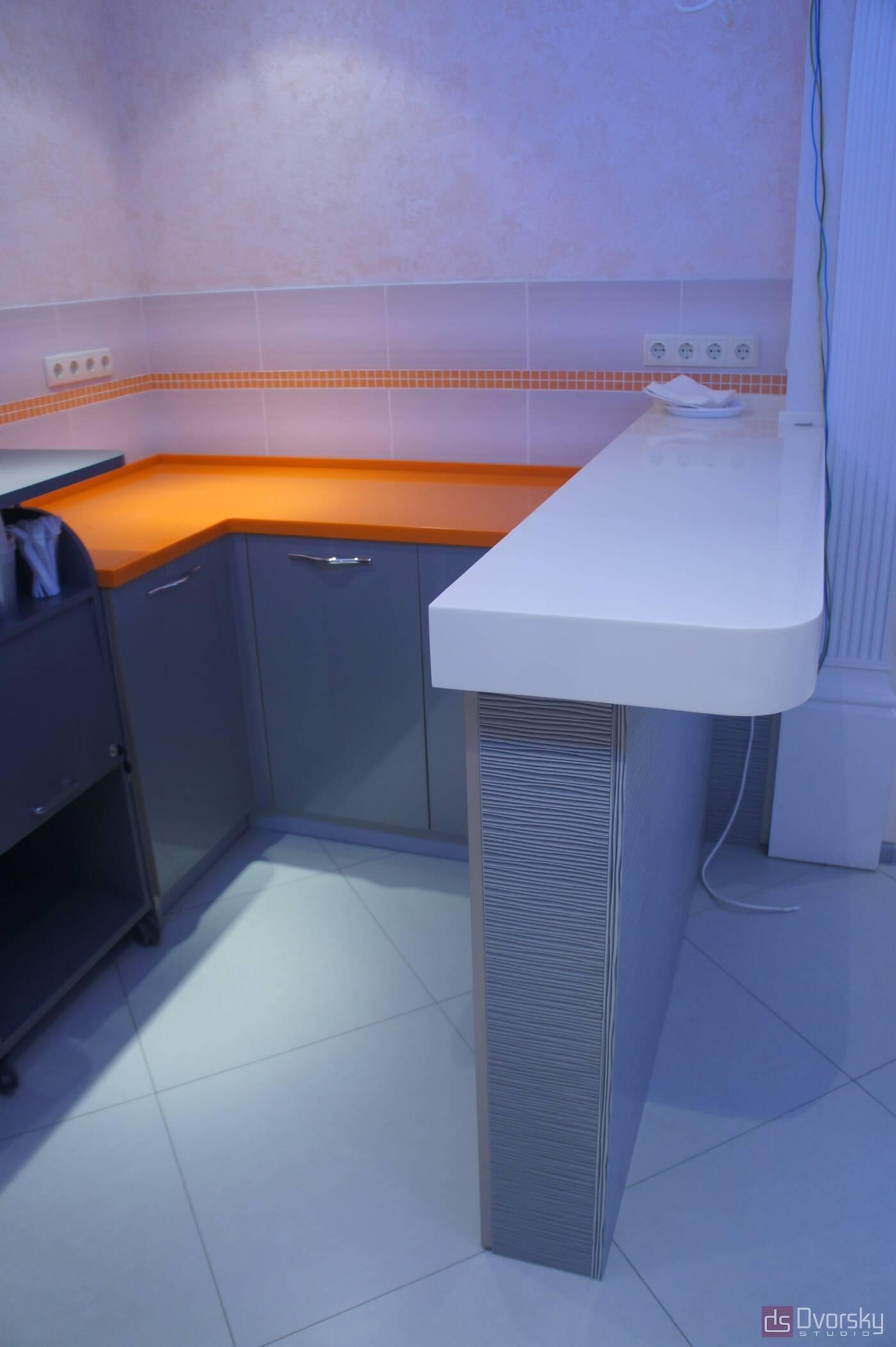 П - образні кухні Офісна кухня - Фото № 2