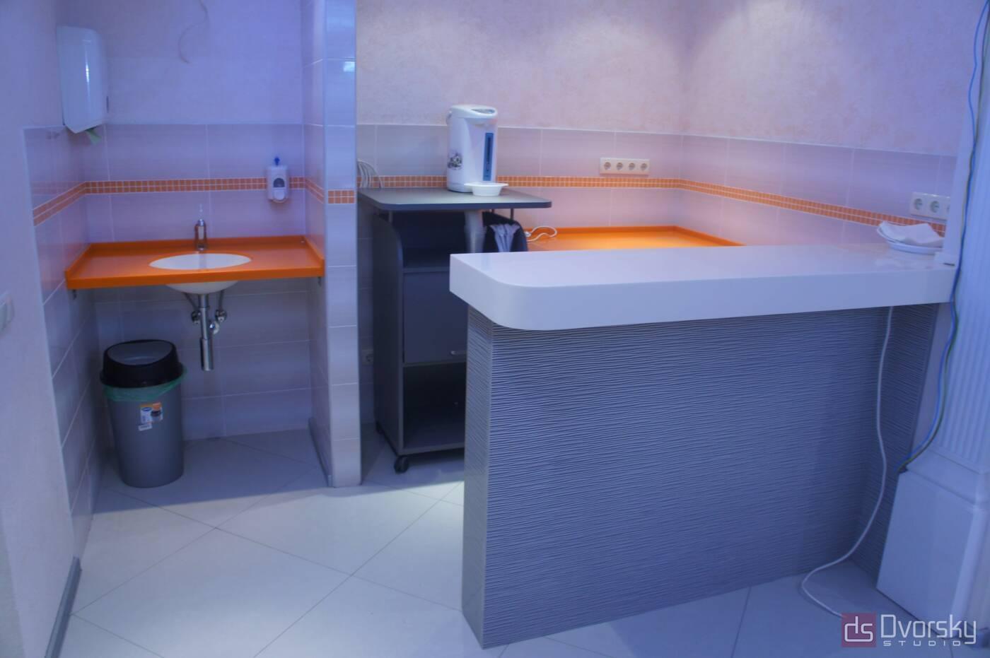 П - образні кухні Офісна кухня - Фото № 1