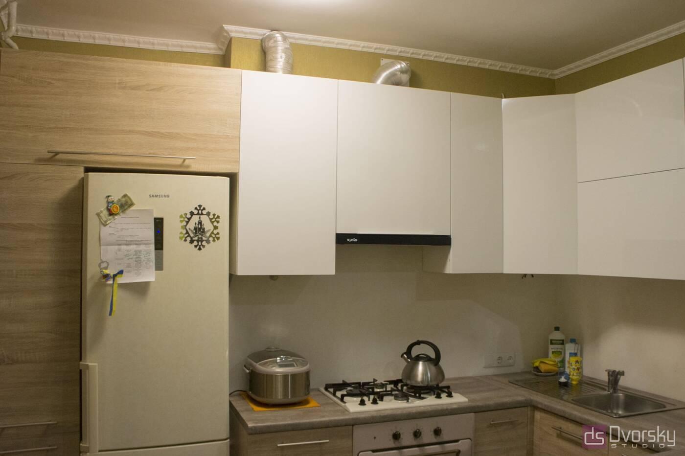 П - образные кухни Кухня с барной стойкой - Фото № 2