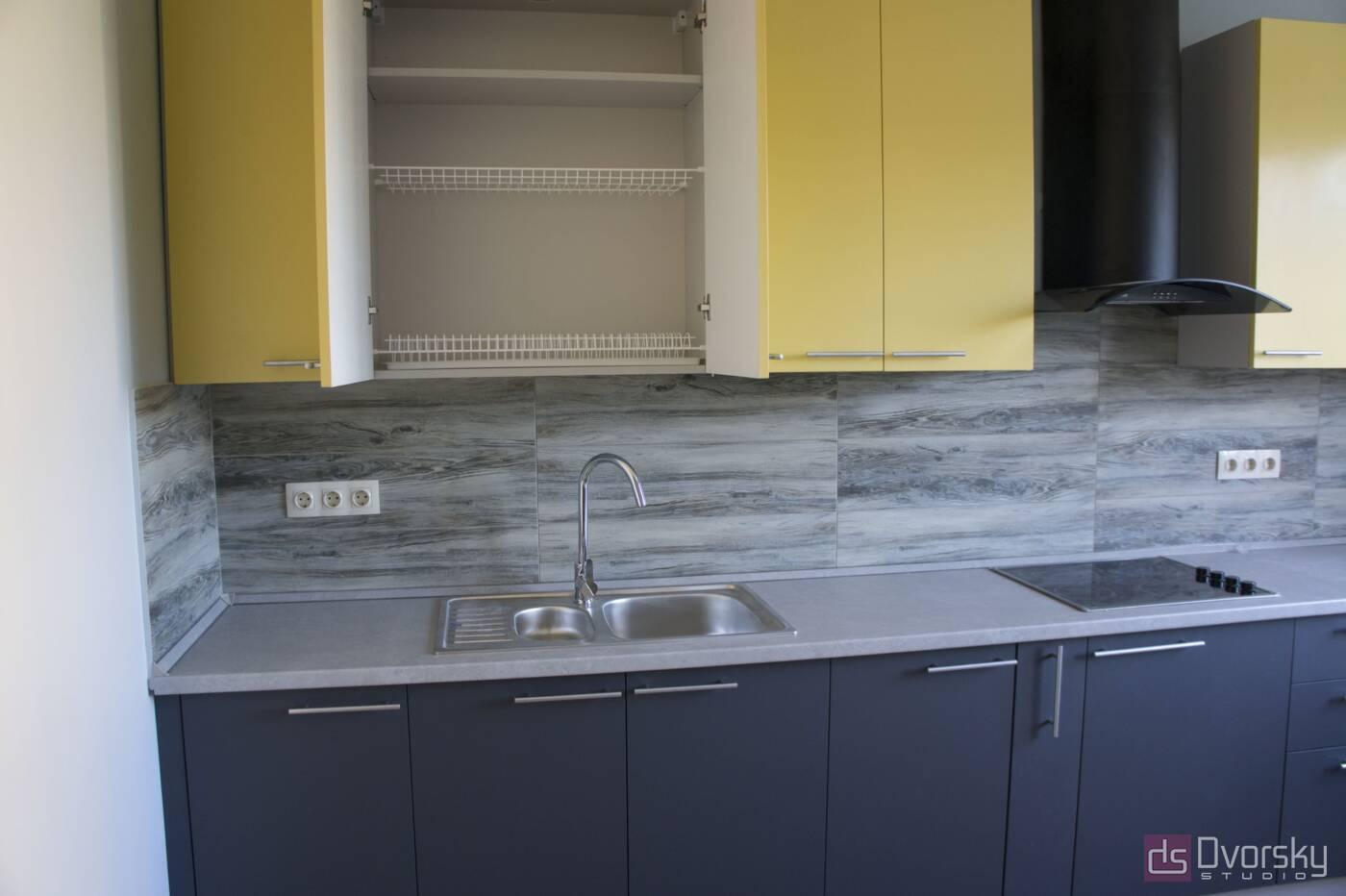 Прямые кухни Кухня в пленке - Фото № 2