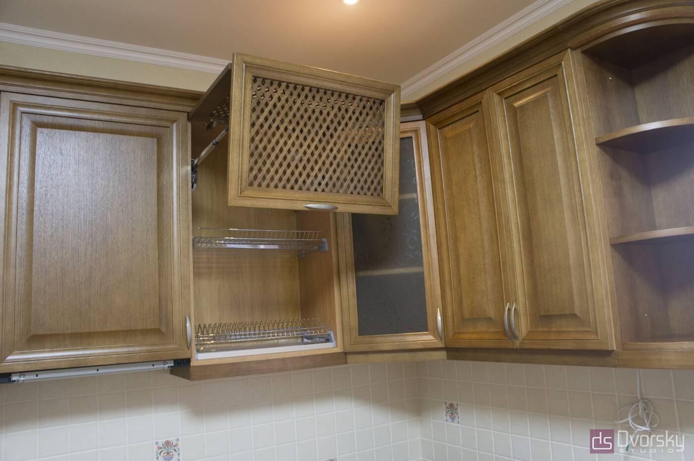 Кутові кухні Кухня з натурального дерева - Фото № 7