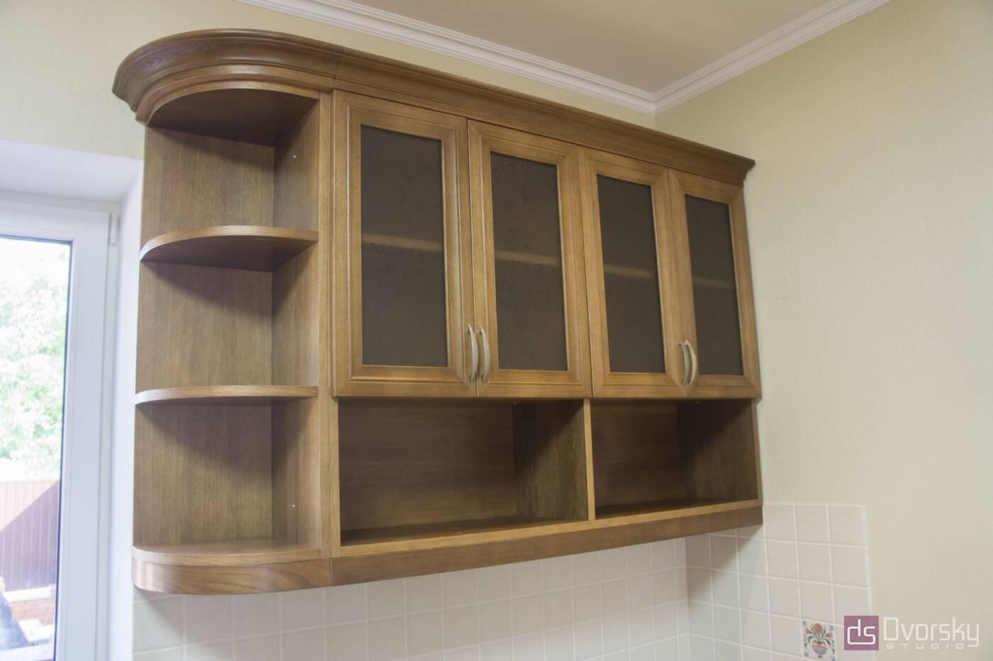 Кутові кухні Кухня з натурального дерева - Фото № 5